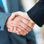 Business Handshake - Closing the Sale