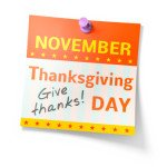 Thanksgiving: Take Time To Give Thanks For Being In Business