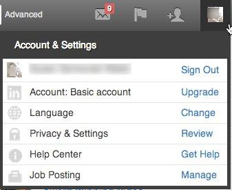 LinkedIn Accounts and Settings