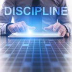 Businessperson focused on discipline