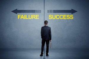 Business success, Business Failure, Mindset