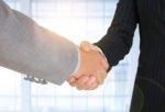Strategic Business Deal Handshake